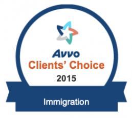 Christian Y. Alvarez Avvo Clients' Choice 2015, Immigration